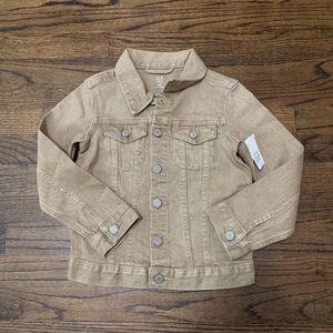 NWT Gap Kids Denim Jacket Size 5